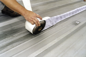 A Self Adhesive, Polyester Reinforced Tape, Manufactured Specifically For  The Demanding Requirements Of Metal Roof Seam And Fastener Weatherproofing.