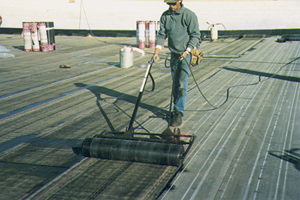 Swepco uni shield tri polymer roof membrane southwestern for Polymer roofing